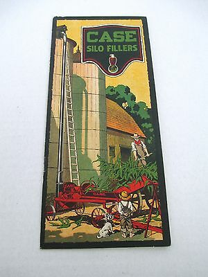 Early Case Silo Fillers Tractor Farm Advertising Catalog Brochure  #9