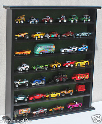 Hot Wheels Matchbox Car Display Stand Case for 1:64 Scale, NO DOOR, HW-GB20-BL