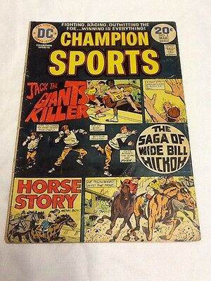 Champion Sports #3 (1974) DC (A0369) See Pics