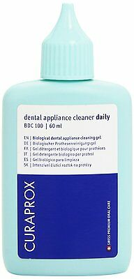 Curaden Daily Gel Denture Cleanser 60ml