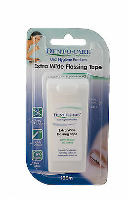 Dent-O-Care Extra Wide Flossing Tape 100m