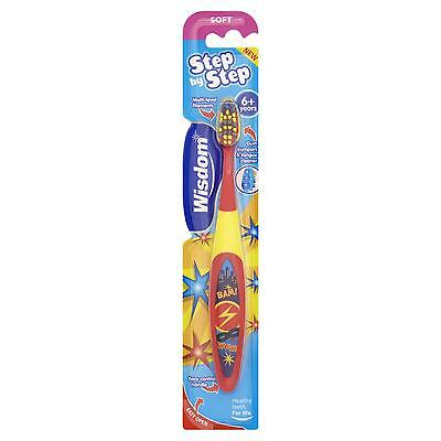 Wisdom Step By Step 6-8 Years Soft Toothbrush