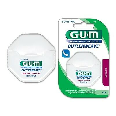Sunstar GUM Floss Unwaxed