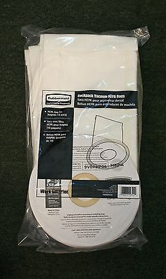 Rubbermaid Backpack Vacuum HEPA Bag Replacement