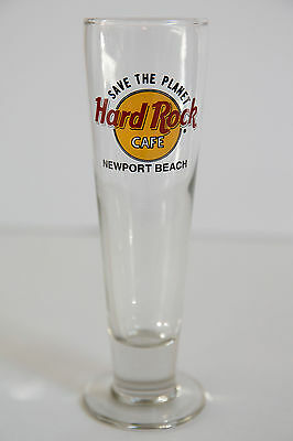 Hard Rock Cafe Pilsner Glass Set (Newport Beach, Chicago, LA, Las Vegas)