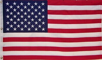 Heavy Duty Usa American Flag 4'X 6' Embroidered Stars - 600D Sewn Stripes