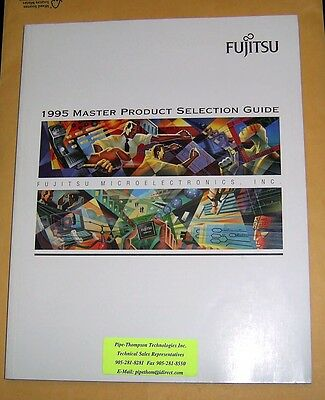Vintage 1995 FUJITSU Microelectronics Master Product Selector Guide