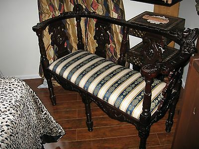 antique furnature - Love Seat