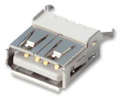 2X New No.98K8341 Lumberg 2410 01 Usb Connector, Receptacle, 4 Position, Solder