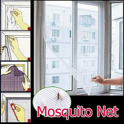 Large White Window Insect Screen Mesh Net Mosquito Fly Bug Moth Netting UK New