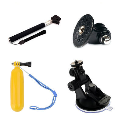 Phot-R Accessories Floating Hand Grip Monopod Suction Cup Kit for GoPro 5 4 3+