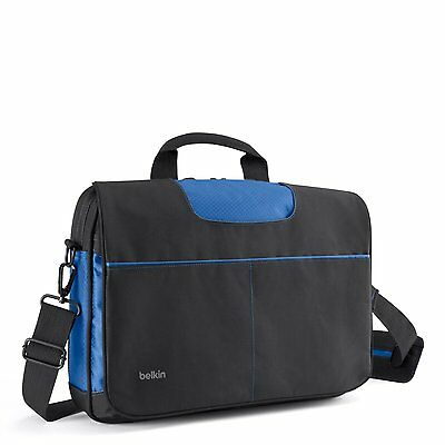 "Black Laptop Messenger Shoulder Bag Apple MacBook Pro, Air 13"" Ultrabook Laptop"