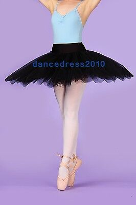 Plum Purple 3 LAYER ORGANDY TUTU Ballet Dance ch//ladies over 400 available NWT