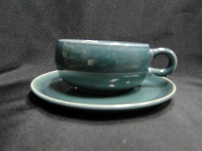 Steubenville Russel Wright, Seafoam Green: Cup & Saucer Set (s), As Is