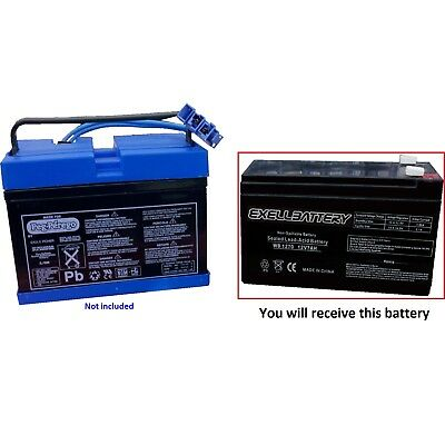 New Peg Perego Craftsman ATV Battery 12 Volt 7Ah 8Ah Slim Replacement Battery