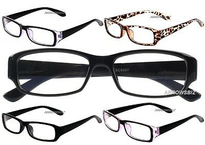 Computer TV Essential Anti-Reflection Light Weight Reading Glasses +0.00 Unisex