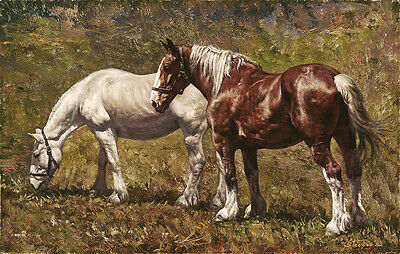 """""""Mixed Pair"""" Don Stivers Limited Edition Giclee Print"""