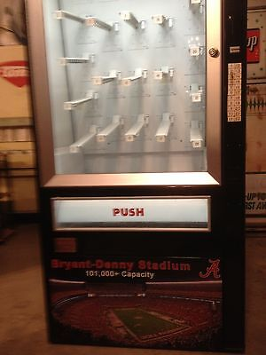 snack machines vintage candy mancave  customize alabama roll tide football