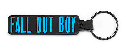 FALL OUT BOY Rubber Keychain Keyring Key Chain Key Ring v2