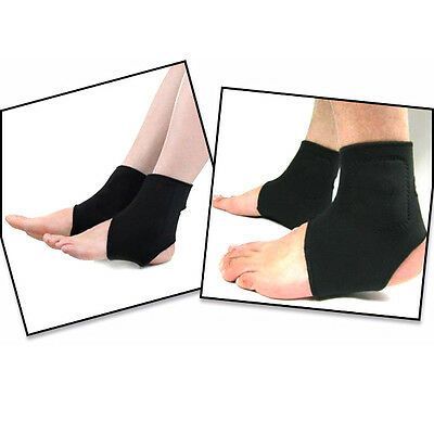 2x Magnetic Therapy Spontaneous Heating Ankle Brace Support Protection Belt Band