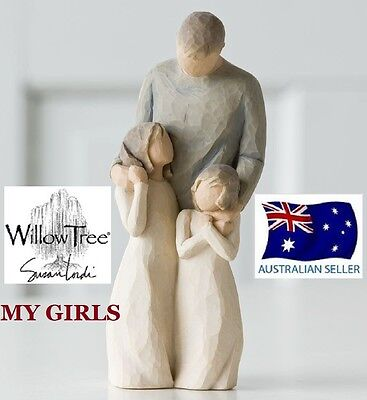 Willow Tree MY GIRLS Figurine By Susan Lordi By Demdaco BRAND NEW IN BOX