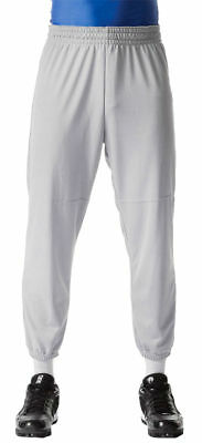 A4 Youth Moisture Wicking Polyester Double Knit Pull On Baseball Pant. NB6120