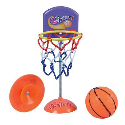 "7.5"" Novelty Suckered Basketball Net Hoop Ring With Ball - Executive Desk Toy"