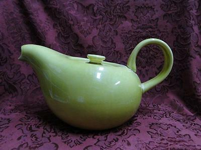 "Steubenville Russel Wright, Chartreuse: Teapot, 5.25"", As Is"