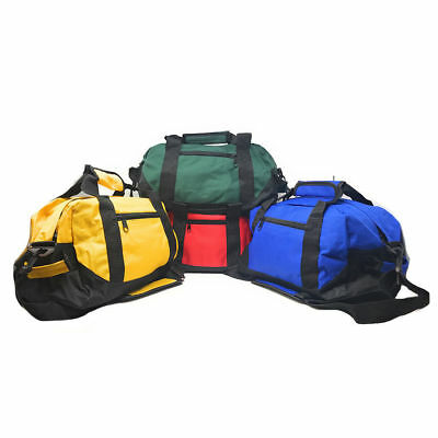 """14"""" Two Tone Duffle Duffel Bag Bags Travel Sport Gym Carry On Luggage"""
