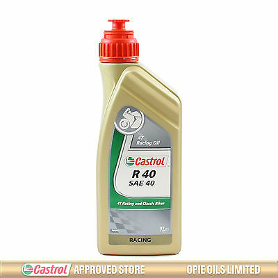 Castrol R 40 SAE 40 4T Racing Engine Oil - 1 Litre