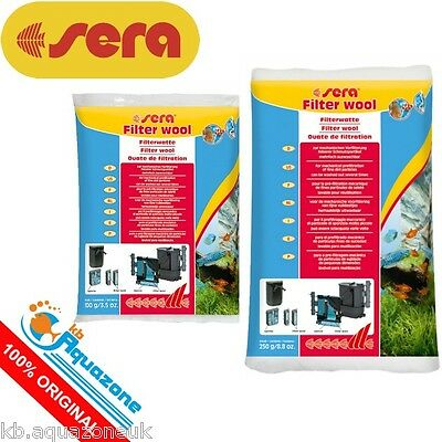 SERA * Filter Wool *QUALITY For mechanical prefiltration of fine dirt particles