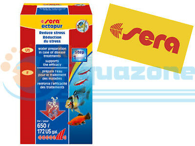 SERA * ECTOPUR 130g WATER CARE TREATMENT ALLEVIATION IN CASE OF DISEASE • EUR 9,59