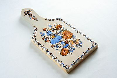 Handmade wooden natural wood decorative painted art cutting board
