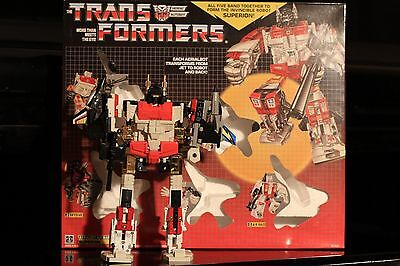 Transformers G1 Re-issue Autobot Aerialbots Superion Collection Set MISB New