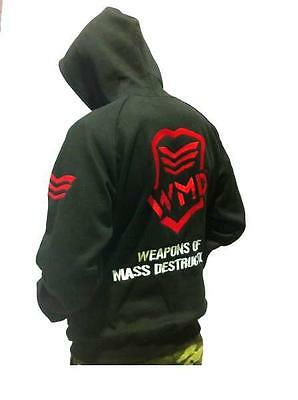 Wmd Fight Gear Hoodie | Street Gym Wear Jumper Jacket Mma Clothing Ufc