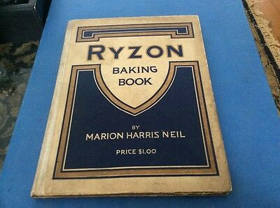 Vintage Ryzon Baking Book by Marion Harris Neil, 1916