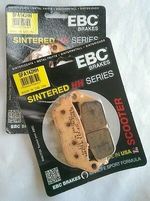Suzuki AN650 Burgman / Skywave EBC Sintered FRONT Brake Pads (SFA142HH) (2 Sets)