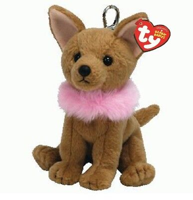 Ty Beanie Babies 40670 Divalectable the Chihuahua Key Clip