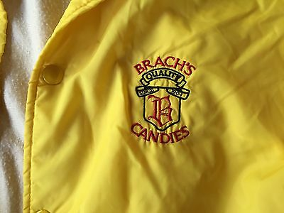 BRACHS FINE CANDIES CANDY OFFICAL PLANT JACKET VENDOR Vintage