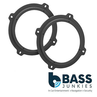 """CT25SY01 SsangYong Rexton 2006 On 17CM 165MM 6.5"""" Car Speaker Adaptor Brackets"""