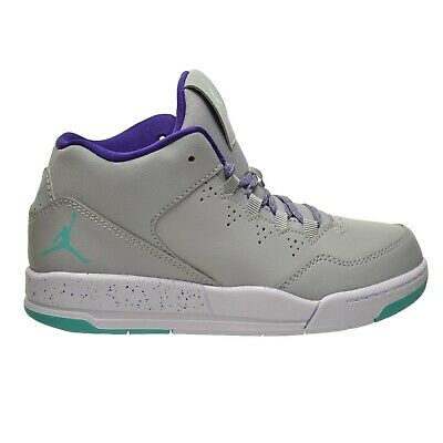 3d47ed813064 Jordan Flight Origin 2 GP Little Kids Shoes Grey Retro-Purple-White 718076