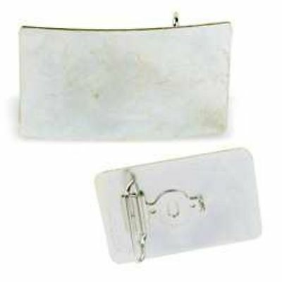 Rectangle Buckle Blank 1-1/2 inch to 1-3/4 inch  (11687-00) White Bear Leather
