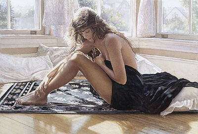 """Comforting the heart"" Steve Hanks Limited Edition Fine Art Print"