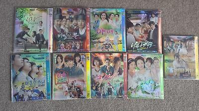 Korean Dramas- 9 plus boys, bad guys, boarding house 24, mama, valid love, etc