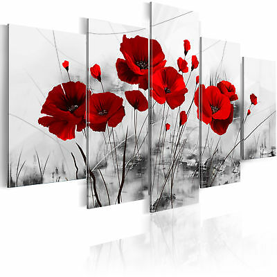 Large Canvas Wall Art Print + Image + Picture + Photo Flowers 0107-5