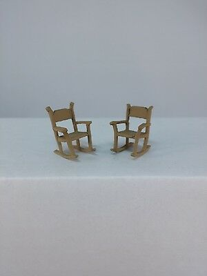 O Scale On30 On3 Figures People Artista Arttista Redwood Lounge Chair #1471