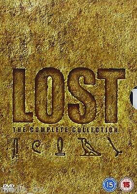 Lost: The Complete Collection - Season (Series) 1 2 3 4 5 6 Box Set | New | DVD