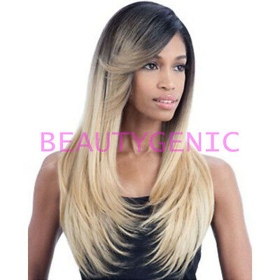 Freetress Equal Hair Invisible L Part Lacefront Wig Sunny Blossom Long Style