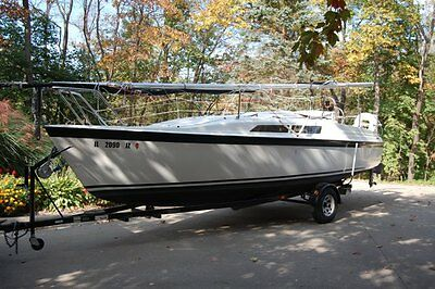 1994 MACGREGOR 26S MacGregor 26 Swing Keel Sailboat / Trailer in Excellent  Condition ready WI Sail!