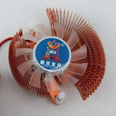 Golden 55 60mm VGA Video Card Cooling  Fan For Nvidia Geforce & ATI  Series